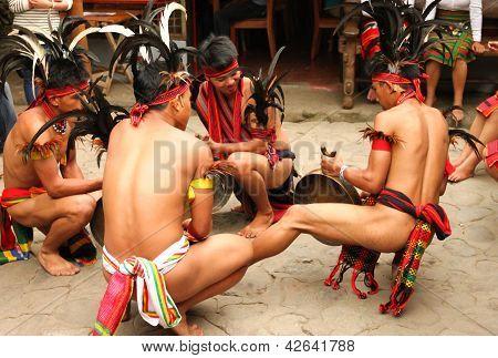 Panagbenga street dancing 2013 in Baguio City, Philippines