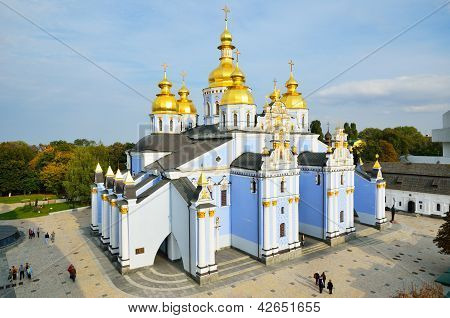 Saint Michael Cathedral In Kiev