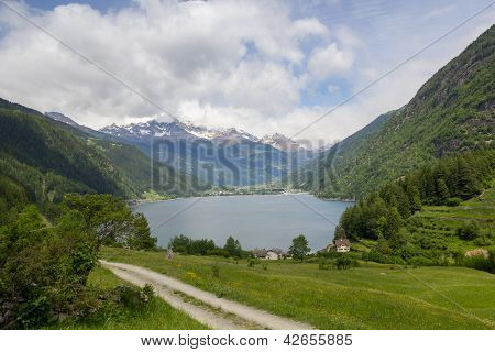 Lake Lago Di Poschiavo Swiss