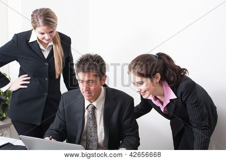 Professional Trio at work