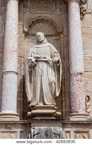 Statue In Real Monasterio De Santa Maria De Poblet