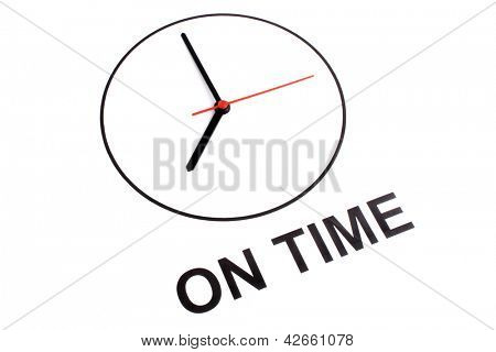 Photo of On time