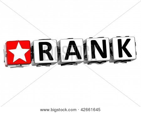 3D Rank Button Click Here Block Text