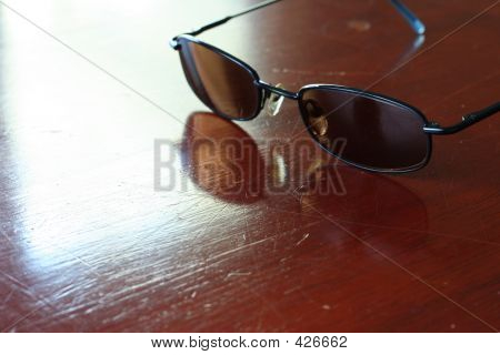 Sunglasses On Table