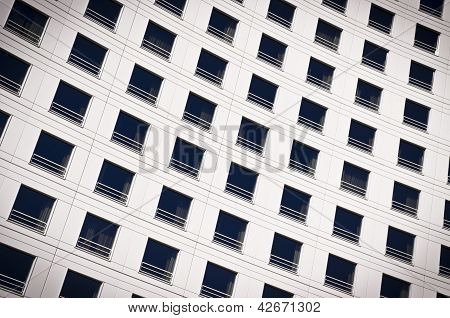 Windows Of A Building