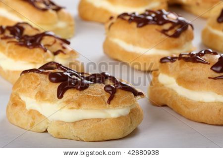 Baked Eclairs