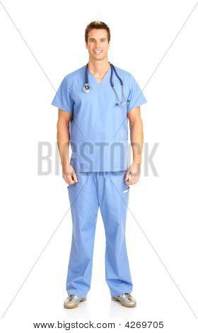 Smiling Medical Doctor