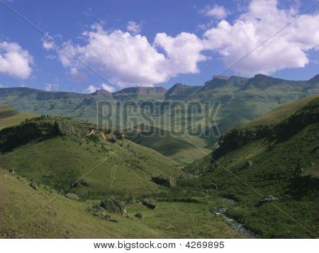 Drakensburg Mountain View