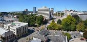 Panoramic View Of The Christchurch (New Zealand) City Skyline.