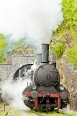 stock photo of former yugoslavia  - steam locomotive  - JPG