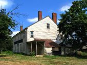 Abandoned Old American Home