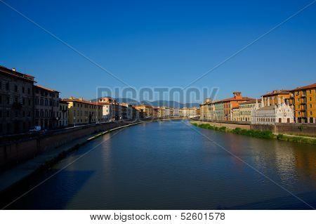River In Pisa