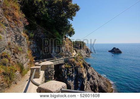 Pathway In Cinque Terre