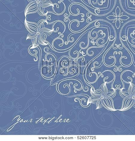 Elegant invitation cards. Vector illustration