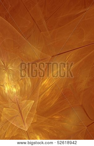 ?olorful bright orange-red background with golden flashes .