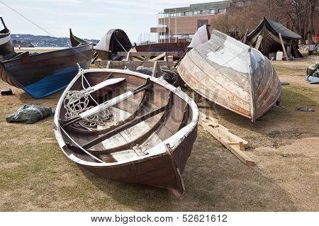 Boats Ashore