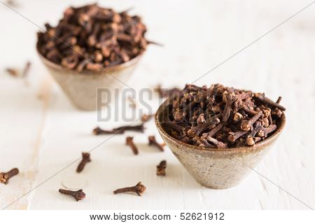 Closeup Of Cloves