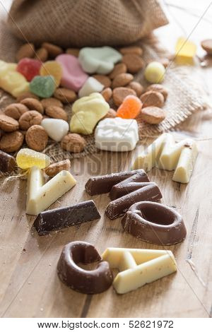 Traditional Sinterklaas Candy