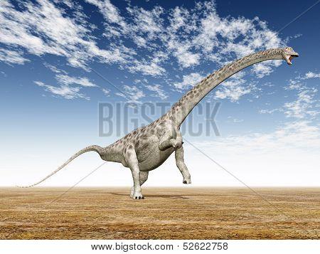 Dinosaur Diplodocus