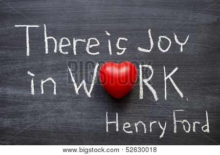 Joy In Work