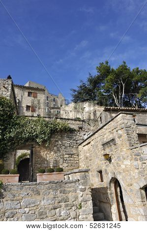 Village Of Lacoste,luberon, France