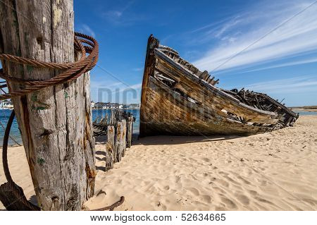 Beached wreck