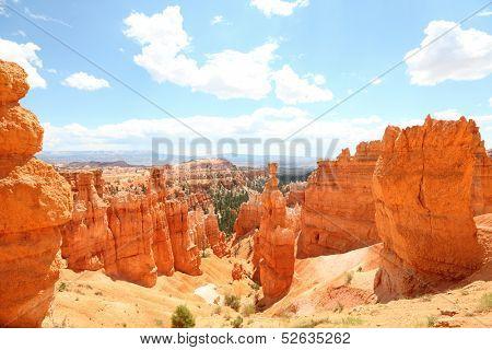 Bryce Canyon National Park landscape, Utah, United States.