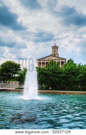 Tennessee State Capitol Building In Nashville