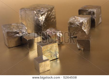 Golden Cubes