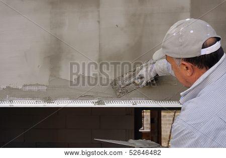 Installing external insulation