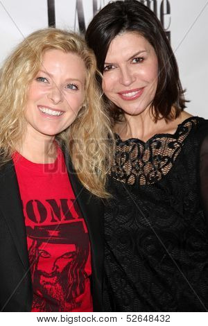 LOS ANGELES - OCT 19:  Cady McClain, Finola Hughes at the