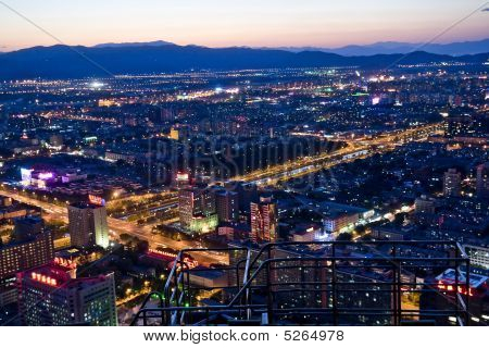 Beijing Night Scene