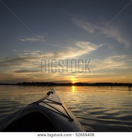Summer Sunset Kayaking