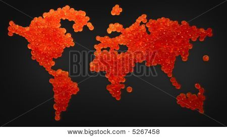 Red Caviar Map