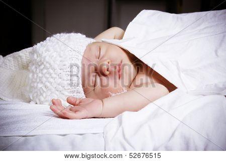 Pretty Sleeping Newborn