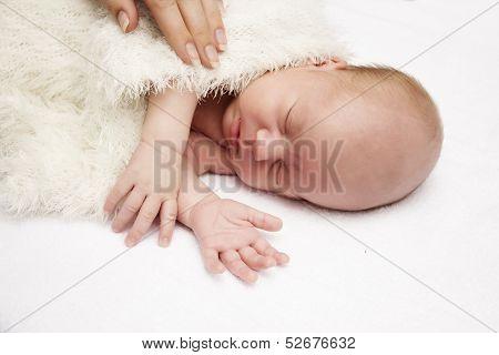 Close-up  Sleeping Baby