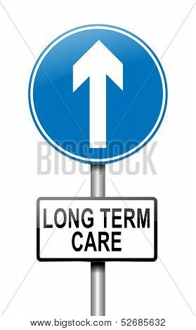 Long Term Care Concept.