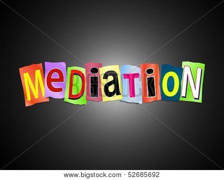 Mediation Concept.