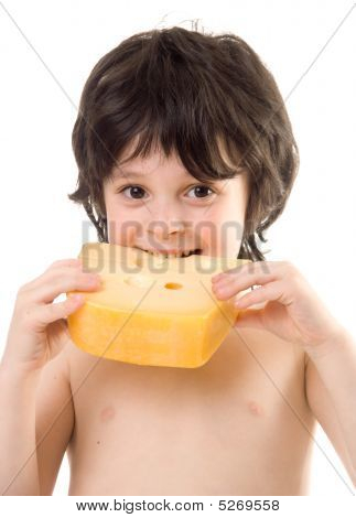 The Boy With A Cheese