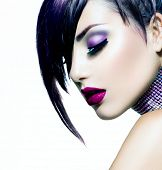 image of gem  - Halloween Woman Make up - JPG