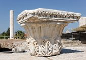 Corinthian Capital In Agora