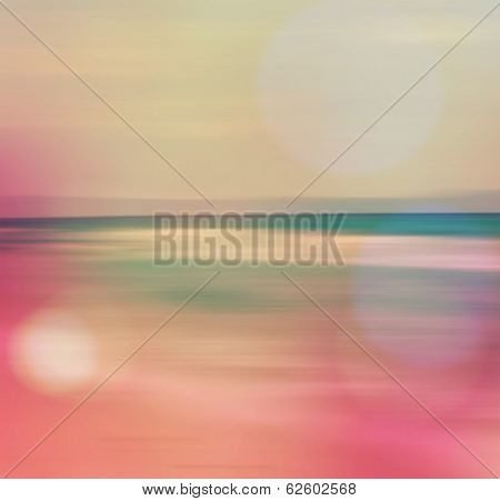 An Abstract Sea Seascape