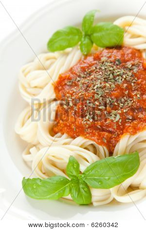 Home Made Bolognese Noodles