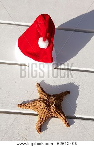Caribbean Christmas Hat