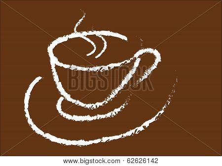 Cup of hot drink (coffee)