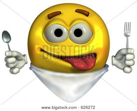 Hungry Emoticon