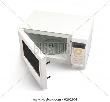 Mini Oven Over White