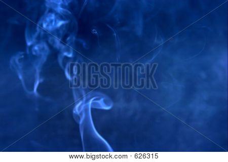 Blauer Rauch Blur