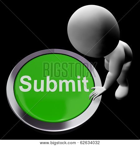 Submit Button Shows Submission Or Handing In
