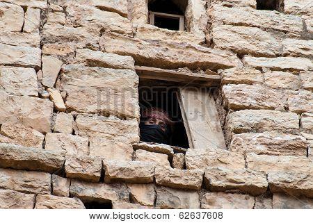 Woman In Yemen